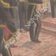 DÉTAILS 05 | Le nouveau Bey de Tunis Hédi Bey - Cérémonie d'investiture - Palais du Bardo - Tunisie - 1902