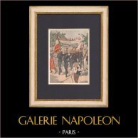Bastille Day - Tribute to the Pompiers de Paris - 1902