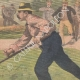 DETAILS 04 | Duel between peasants at Caloire - Loire - France - 1902