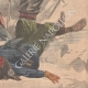 DETAILS 06   Accident in the ascent of Mont Blanc - Snowstorm - Alps - 1902