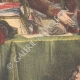 DETAILS 04   Bonaparte installs the Council of State - Constitution of Year VIII - Petit Luxembourg Paris - 1799