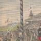 DÉTAILS 01 | Raid équestre Bruxelles-Ostende - Militaire - Belgique - 1902