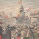 DÉTAILS 03 | Raid équestre Bruxelles-Ostende - Militaire - Belgique - 1902