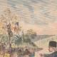 DETAILS 01   The Shah of Persia attends a car race at the Bois de Boulogne - Paris - 1902