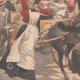 DÉTAILS 02 | Un ours attaque une charrette d'enfants à Valenciennes - Nord - France - 1902