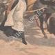 DÉTAILS 05 | Un ours attaque une charrette d'enfants à Valenciennes - Nord - France - 1902