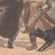 DÉTAILS 06 | Un ours attaque une charrette d'enfants à Valenciennes - Nord - France - 1902