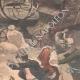 DÉTAILS 02   La foudre tombe sur une machine agricole en Bretagne - 1902