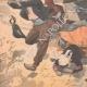 DÉTAILS 05   La foudre tombe sur une machine agricole en Bretagne - 1902