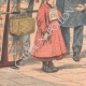 DETAILS 05 | Mulhouse Station - A German girl traveling alone - Haut-Rhin - France - 1902