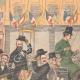 DETAILS 03   Arrival of the Boer generals in Paris - Gare du Nord - 1902