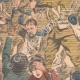 DETAILS 02   Tumult of drunken english soldiers - Birmingham Station - England - 1902