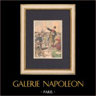 La huelga de los músicos. - Paris - 1902