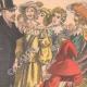 DÉTAILS 04   Une actrice hypnotisée sur scène - Théâtre de Reims - France - 1902