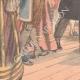 DÉTAILS 05   Une actrice hypnotisée sur scène - Théâtre de Reims - France - 1902