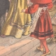 DÉTAILS 06   Une actrice hypnotisée sur scène - Théâtre de Reims - France - 1902