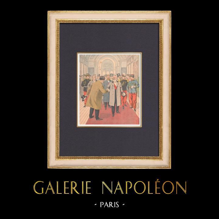 Gravures Anciennes & Dessins | Inauguration du Musée des Beaux-Arts de la Ville de Paris - Petit Palais - 1902 | Gravure sur bois | 1902