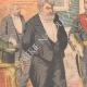 DÉTAILS 02   Réception au Ministère de la Marine - Jour de l'An - Paris - 1903