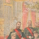 DETAILS 01 | Tribute of the Russian Empresses to the Ambassador of France - Saint Petersburg - 1903