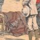 DETAILS 04 | Death of the French explorer Du Bourg de Bozas - Accra - Gulf of Guinea - 1903