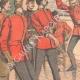 DÉTAILS 02 | Brimades entre officiers anglais - Le fouet - Armée Anglaise - 1903