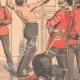 DÉTAILS 04 | Brimades entre officiers anglais - Le fouet - Armée Anglaise - 1903