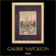 Sopa dos pobres em Paris - 1903