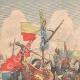 DETAILS 01   President of the Republic's trip in Algeria - Fantasia - 1903