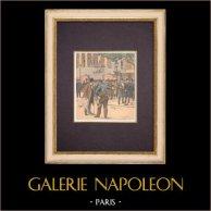 Cámara de Diputados - Vuelta Parlamentaria - Paris - 1903