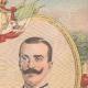 DETAILS 03 | Portrait of Viktor Emanuel III and Elena of Montenegro his wife