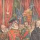 DETALLES 01 | Visita d'Emile Loubet - El Lord Mayor of London le dio una caja de oro - Mansion House - 1903