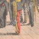 DETALLES 06 | Visita d'Emile Loubet - El Lord Mayor of London le dio una caja de oro - Mansion House - 1903
