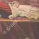 DÉTAILS 04 | Lit de Mort du Pape Léon XIII - Rome - 1903