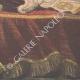 DÉTAILS 06 | Lit de Mort du Pape Léon XIII - Rome - 1903