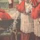 DÉTAILS 06   Conclave de 1903 - Election d'un nouveau Pape dans la Chapelle Sixtine - Vatican (Italie)