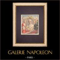 Cardinal Giuseppe Sarto - Pope Pius X - Saint Peter's Square - Rome - 1903