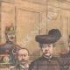 DÉTAILS 01 | Procès de la famille Humbert en Cour d'Assises - Escroquerie - Paris - 1903
