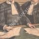DÉTAILS 06 | Procès de la famille Humbert en Cour d'Assises - Escroquerie - Paris - 1903