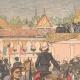 DÉTAILS 01 | Revue de la cavalerie indigène en Indochine - 1903