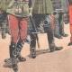 DETAILS 05   Triumphal reception of General Pendezec in Warsaw - Poland - 1903