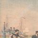 DÉTAILS 01   L'équipage du Galilée sauve les marins abandonnés par Jacques Lebaudy - Afrique - 1903