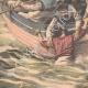 DÉTAILS 05   L'équipage du Galilée sauve les marins abandonnés par Jacques Lebaudy - Afrique - 1903
