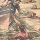 DÉTAILS 06   L'équipage du Galilée sauve les marins abandonnés par Jacques Lebaudy - Afrique - 1903