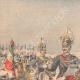 DÉTAILS 01   Victor-Emmanuel III d'Italie et son Etat-major - 1903