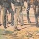 DÉTAILS 05   Victor-Emmanuel III d'Italie et son Etat-major - 1903