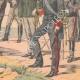 DÉTAILS 06   Victor-Emmanuel III d'Italie et son Etat-major - 1903