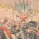 DETALLES 01   El Rey y la Reina de Italia llegan en Francia - Estación de Dijon - 1903
