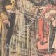 DETALLES 02   El Rey y la Reina de Italia llegan en Francia - Estación de Dijon - 1903