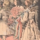 DETALLES 04   El Rey y la Reina de Italia llegan en Francia - Estación de Dijon - 1903