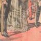 DETALLES 05   El Rey y la Reina de Italia llegan en Francia - Estación de Dijon - 1903
